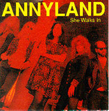 Annyland - She Walks In CD Cover