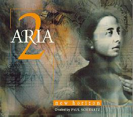 Aria 2: New Horizon CD Cover