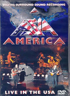 America Live In The USA CD Cover