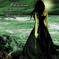 Christina [Booth] - Broken Lives and Bleeding Hearts - CD Cover