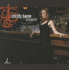 Christy Baron Steppin CD Cover