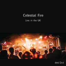 Celestial Fire - Live in the UK - Cover Artwork