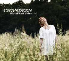 Chandeen - Blood Red Skies - CD Cover