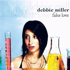 Debbie Miller - Fake Love - CD Cover Artwork