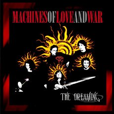 The Dreaming Machines Of Love And War CD Cover