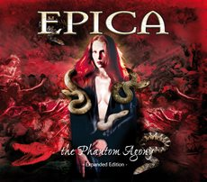 Epica - The Phantom Agony - Expanded Edition CD Cover Artwork