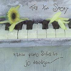 Jo Davidson, Fifteen Piano Solos CD Cover