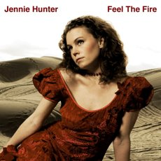 Jennie Hunter - Feel The Fire - CD Cover