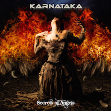 Karnataka - Secrets of Angels - CD Cover