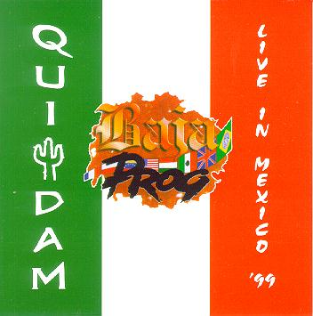 Quidam Baja Prog—Live in Mexico '99 - click to visit artist's website