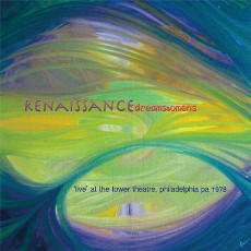 Renaissance - Live at The Tower Theatre Philadelphia PA 1978 - CD Cover