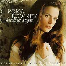 Roma Downy Healing Angel CD Cover