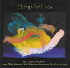 Songs For Luca CD Cover