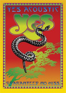 Yes Acoustic DVD Cover