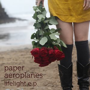 Paper Aeroplanes - Lifelight EP - Cover Artwork