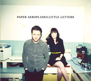 Paper Aeroplanes - Little Letters - Cover Artwork